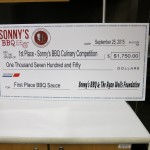 Award Presentation Tarpon Springs High, Sonny's BBQ, BBQ To The Rescue